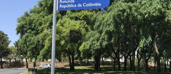 Alcaldía de Lisboa rindió homenaje a nuestro país con la Rotonda República da Colombia, en el Bicentenario de Independencia