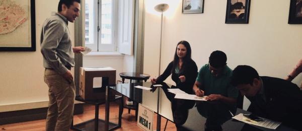 Inició la jornada electoral presidencial 2018 para la segunda vuelta en Consulado de Colombia en Lisboa